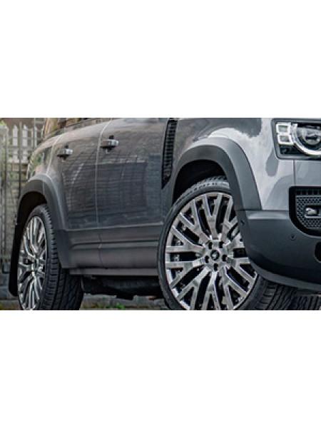 Расширители колесных арок Kahn (BCALD2PB-1) для Land Rover Defender 2