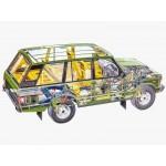 Дооснащение и обслуживание Land Rover Discovery 5