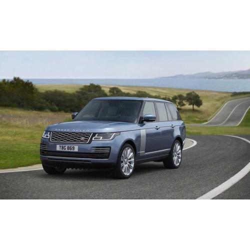 Более роскошный гибрид Range Rover 2018