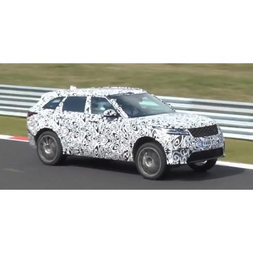 Живой звук заряженного Range Rover Velar SVR