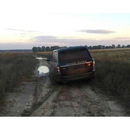 GPS сигнализация помогла полиции найти угнанный Range Rover