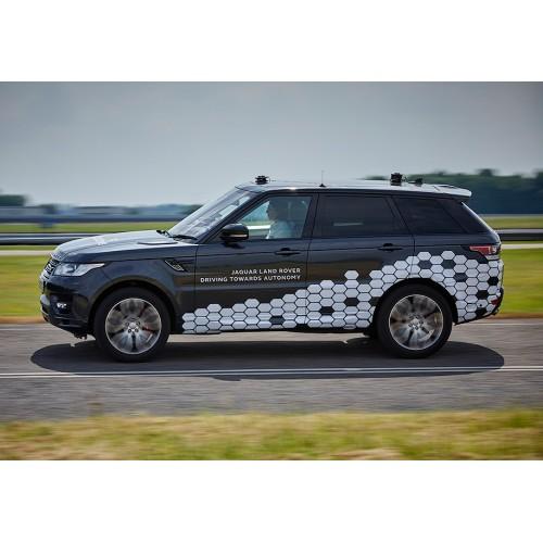 Представлен внедорожник Land Rover с автопилотом