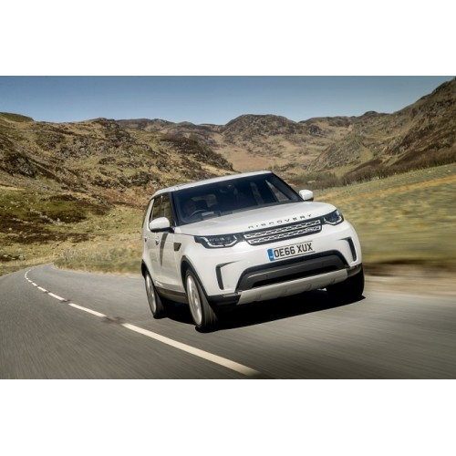 Land Rover Discovery стал автомобилем года 2017