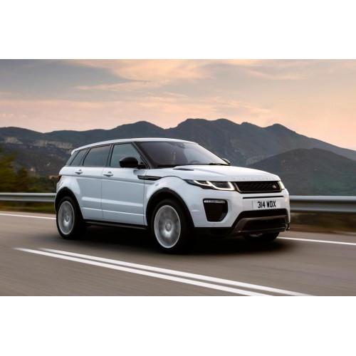 В Land Rover обновили гамму двигателей Evoque и Discovery Sport