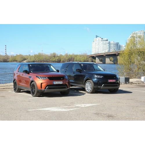 В Украине был представлен обновленный Land Rover Discovery