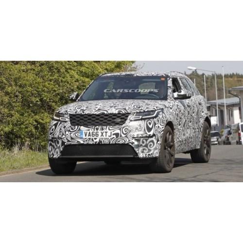Видео заряженного Range Rover Velar SVR