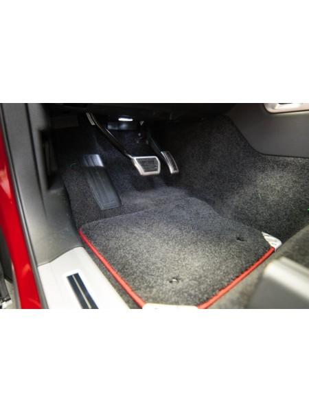 Комплект Premium велюровых  ковров салона Ebony, Pimento для Range Rover
