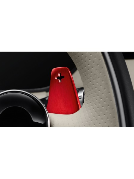 Подрулевые лепестки переключения передач, анодированные Red для Land Rover Discovery 3