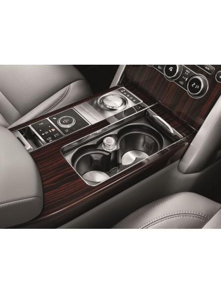 Вставки из алюминия под напитки для Range Rover