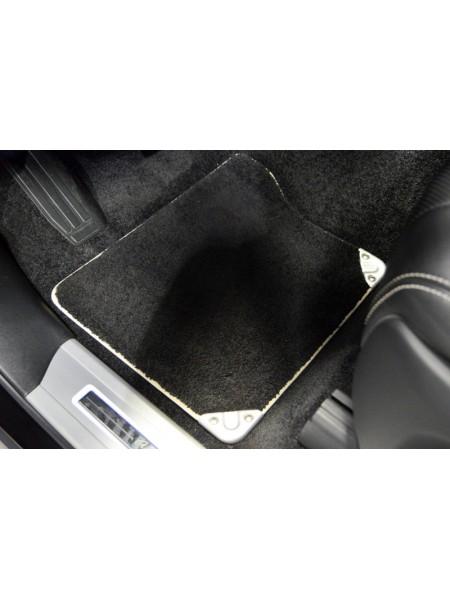 Комплект Premium велюровых  ковров салона Ebony, Ivory для Range Rover