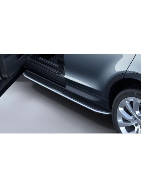 Комплект боковых подножек ступень для Land Rover Discovery Sport 2020 -
