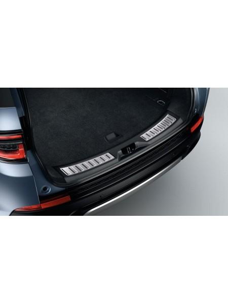 Накладка на порог двери багажного отделения Ebony для Land Rover Discovery Sport 2020 -