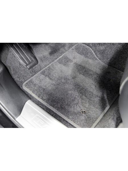 Комплект велюровых ковров салона Ebony, Black для Range Rover