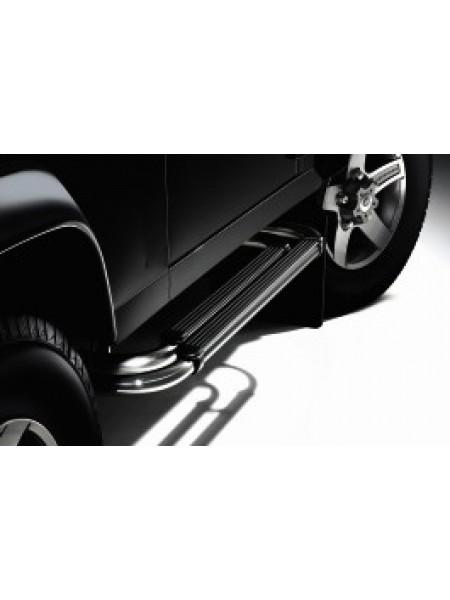 Боковые двойные подножки Twin Tube 110 для Land Rover Defender 2007