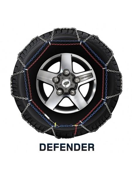 Колесные цепи противоскольжения для Land Rover Defender 2007