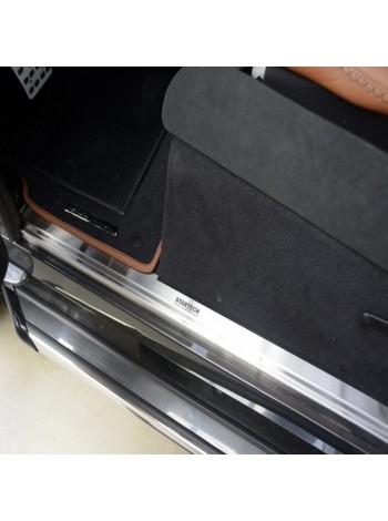 STARTECH накладка порога для Land Rover Defender