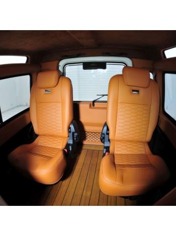 STARTECH 3-й ряд сидений в коже для Land Rover Defender