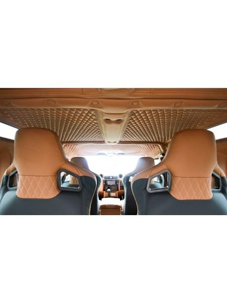 Перетяжка крыши от Kahn Design для Land Rover Defender 110