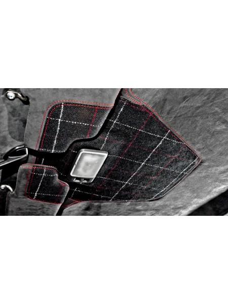Обшивка солнцезащитных козырьков от Kahn Design для Land Rover Defender