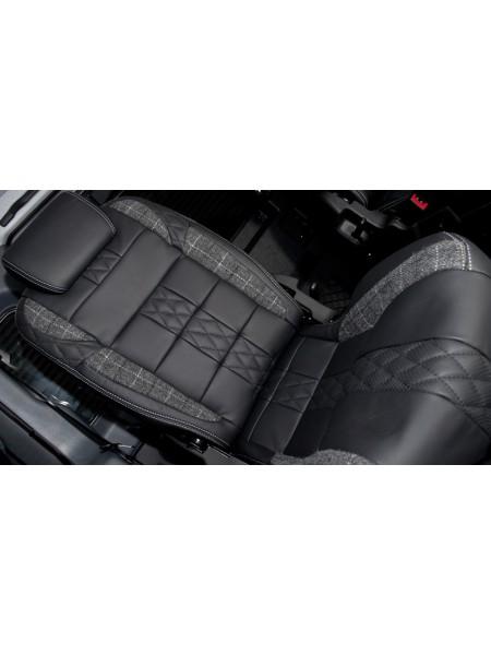 Кожаный салон от Kahn Design для Land Rover Defender 90