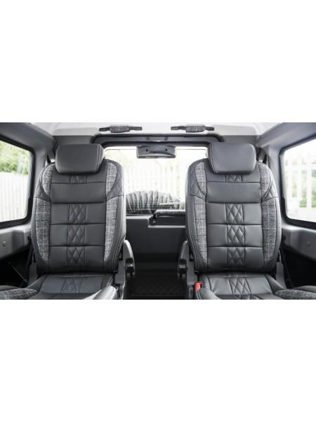 Кожаный салон от Kahn Design для Land Rover Defender 110