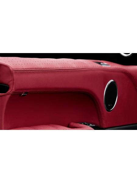Перетяжка верхней части двери в коже от Kahn Design для Range Rover 2013