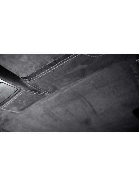 Перетяжка крыши в коже или алькантаре от Kahn Design для Range Rover 2013