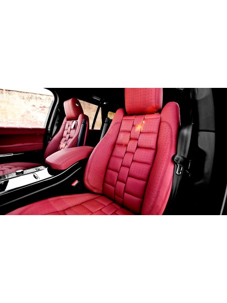 Модульный кожаный 3D салон (передние и задние сиденья) от Kahn Design для Range Rover 2013