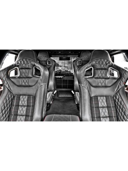 Спортивные сиденья GTB (передние и задние) от Kahn Design для Land Rover Defender 90