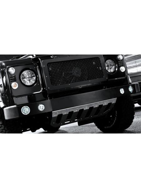 Передний бампер с подсветкой от Kahn Design для Land Rover Defender 2007