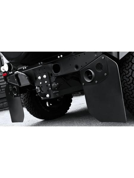 Задние брызговики для выхлопной системы Crosshair от Kahn Design для Land Rover Defender 2007