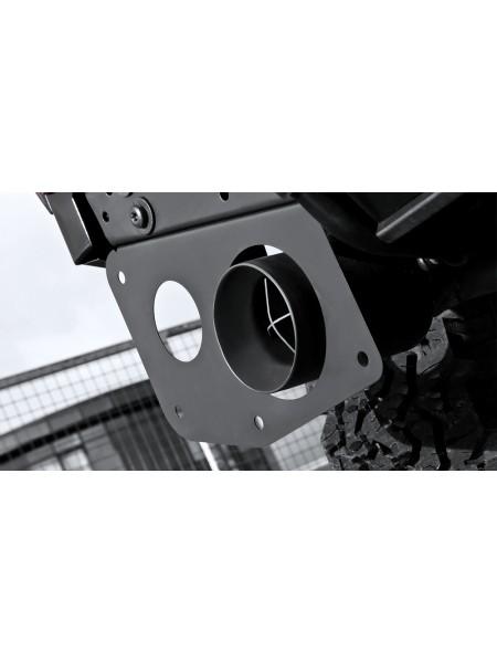 Выхлопная система Crosshair от Kahn Design для Land Rover Defender 90