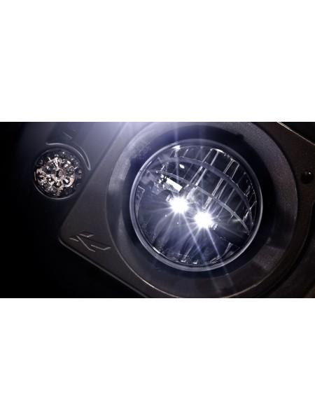 Пара светодиодных фар Diamond LED Military от Kahn Design для Land Rover Defender