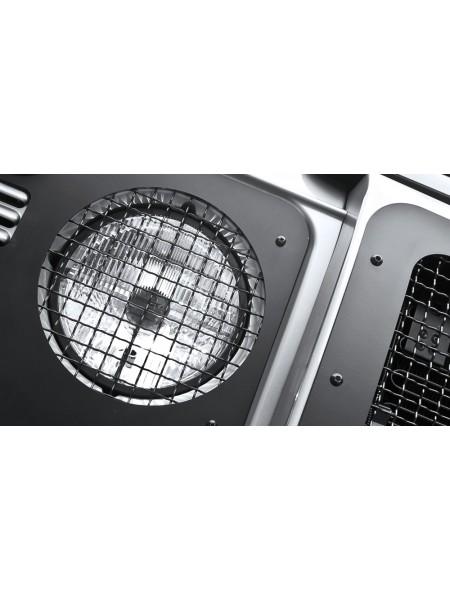 Пара защитных крышек фар Military от Kahn Design для Land Rover Defender 2007