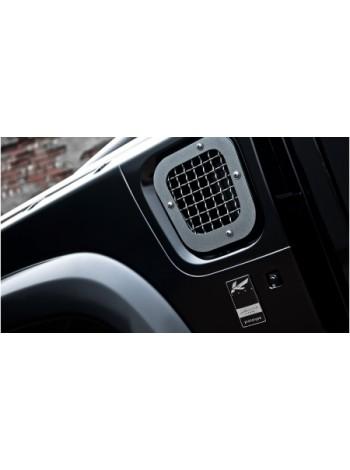 Боковые вентиляционные отверстия с сеткой из нержавеющей стали от Kahn Design для Land Rover Defender
