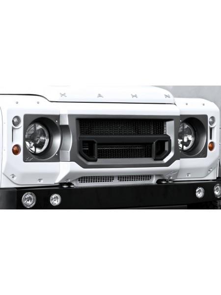 Передняя решетка с держателями фар от Kahn Design для Land Rover Defender X-Lander