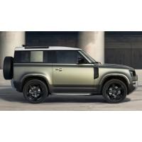 Боковые дуги с отделкой Bright 90 для Land Rover Defender 2020