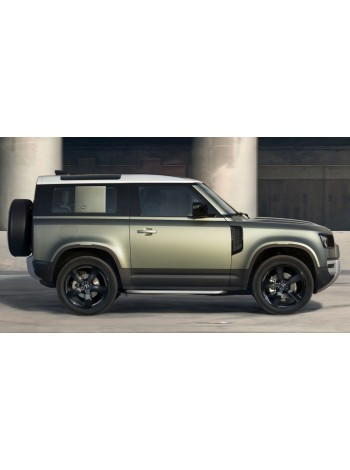 Боковые дуги с отделкой Bright 90 для Land Rover Defender 2020, VPLEP0433