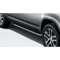 Боковые дуги с отделкой Bright 110 для Land Rover Defender 2020