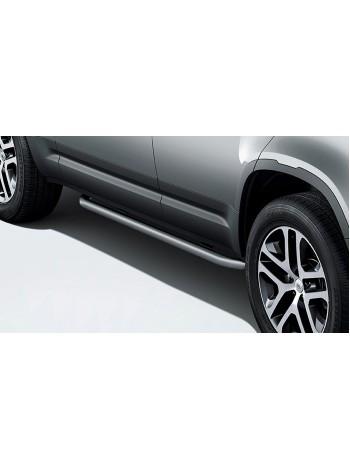Боковые дуги с отделкой Bright 110 для Land Rover Defender 2020, VPLEP0434