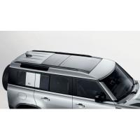 Продольные рейлинги, черные 110 для Land Rover Defender 2020