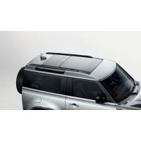Продольные рейлинги, черные 90 для Land Rover Defender 2020