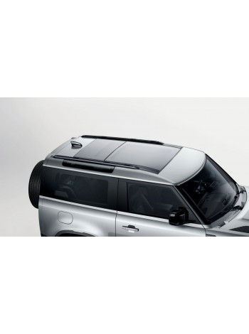 Продольные рейлинги, черные 90 для Land Rover Defender 2020, VPLER0190