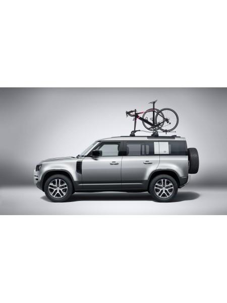 Крепление для перевозки велосипеда за вилку и колесо для Land Rover Defender 2020