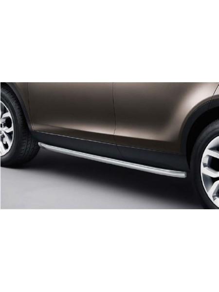 Боковые защитные дуги (пороги) для Land Rover Discovery Sport 2015