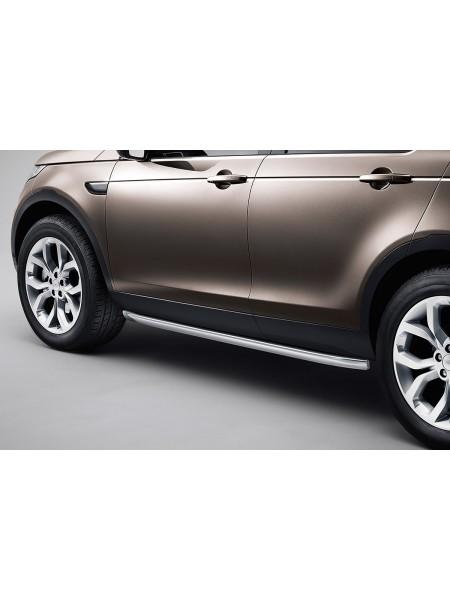 Комплект текстурных защитных накладок на двери для Land Rover Discovery Sport 2015