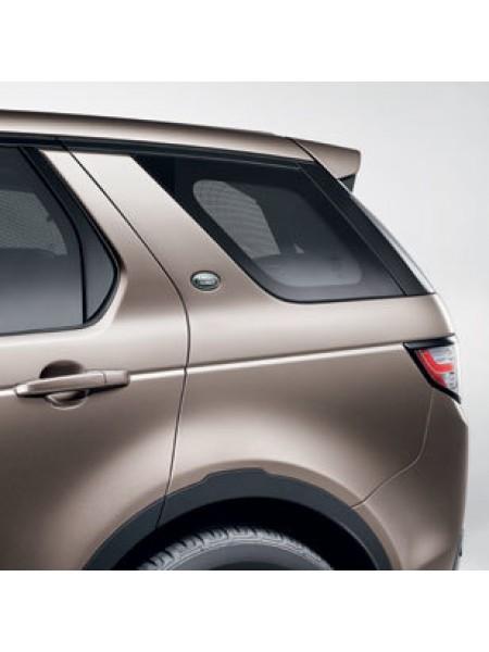 Боковые шторки третьего ряда пассажиров для Land Rover Discovery Sport 2015