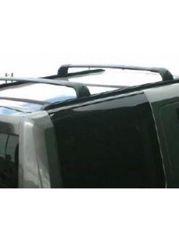 Боковые дуги короткие Black для Land Rover Discovery 4