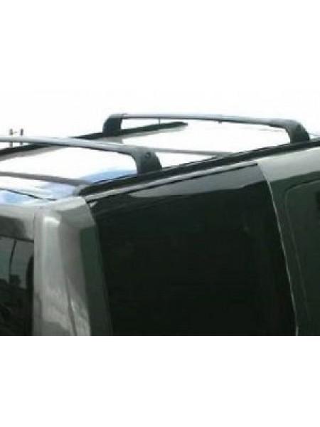 Боковые дуги короткие Black для Land Rover Discovery 3