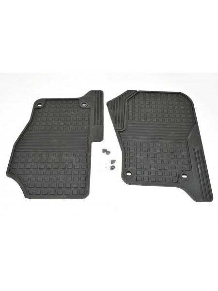 Передние резиновые ковры салона для Land Rover Discovery 3